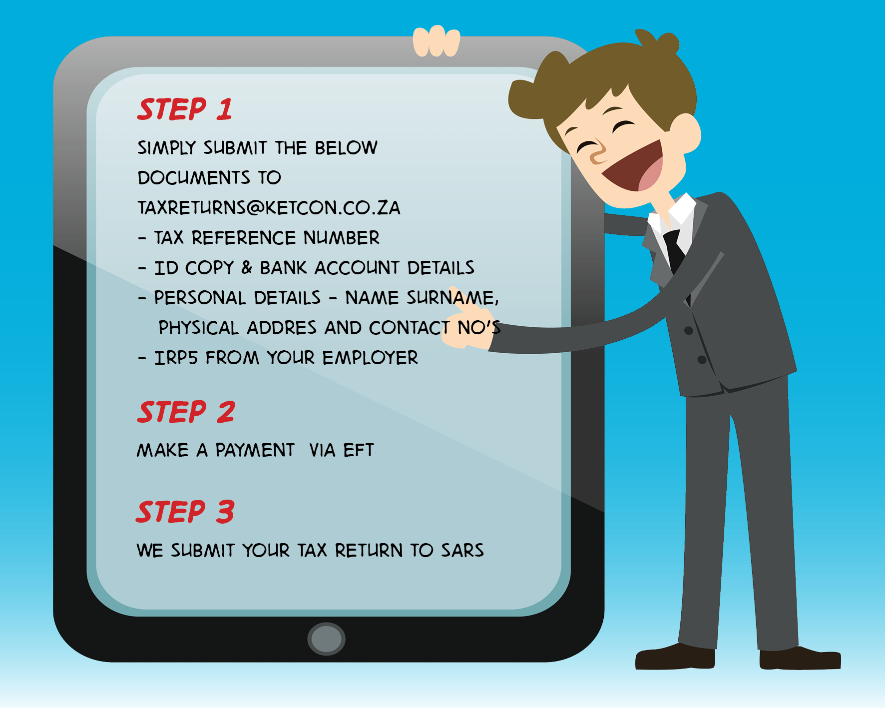 TAX STEPS 1 TO 3 WEB